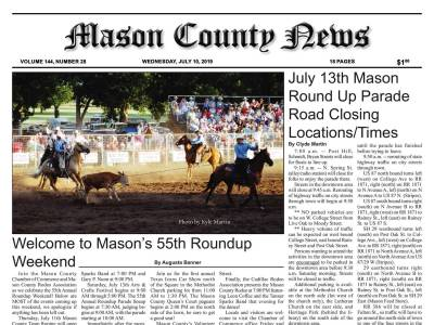 Front Page | Mason County News