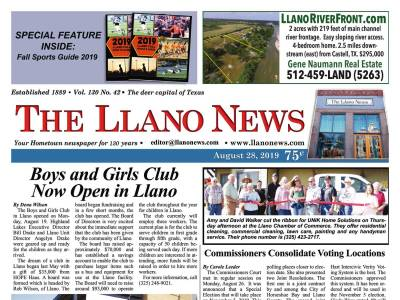 Front Page | The Llano News